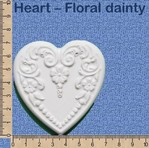 Heart - Floral dainty