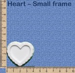 Heart - Small frame