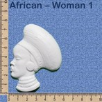 African - Woman 1