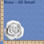 Rose - 3D Small